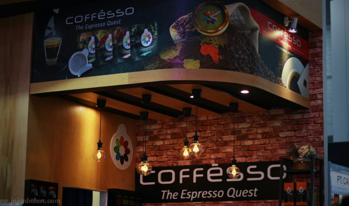 Jajan beken kopi celup coffesso interfood 2016
