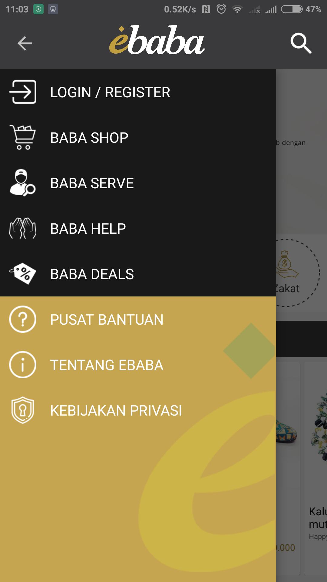 jajanbeken ebaba aplikasi muslim online