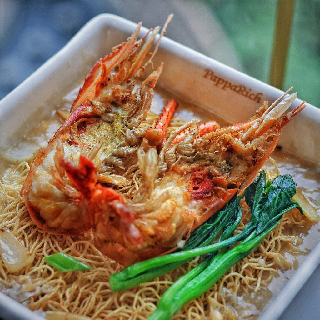 jajanbeken pappa rich restaurant senayan city malaysian food