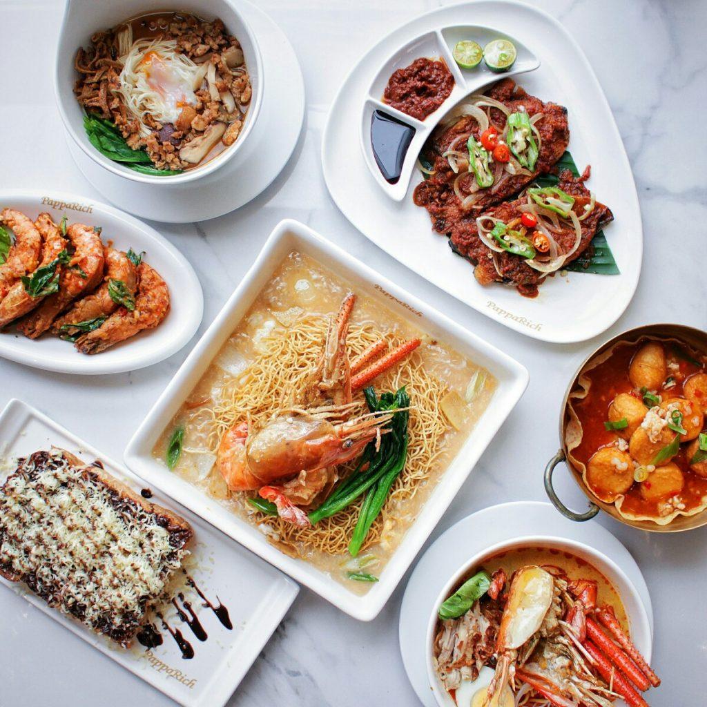 jajanbeken pappa rich senayan city malaysian food