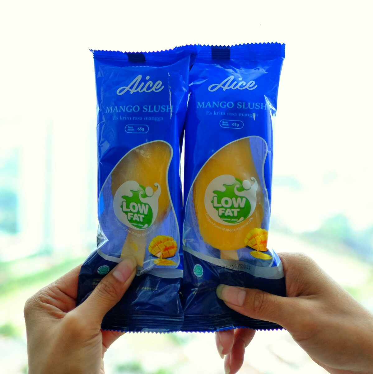 jajanbeken aice mango slush low fat