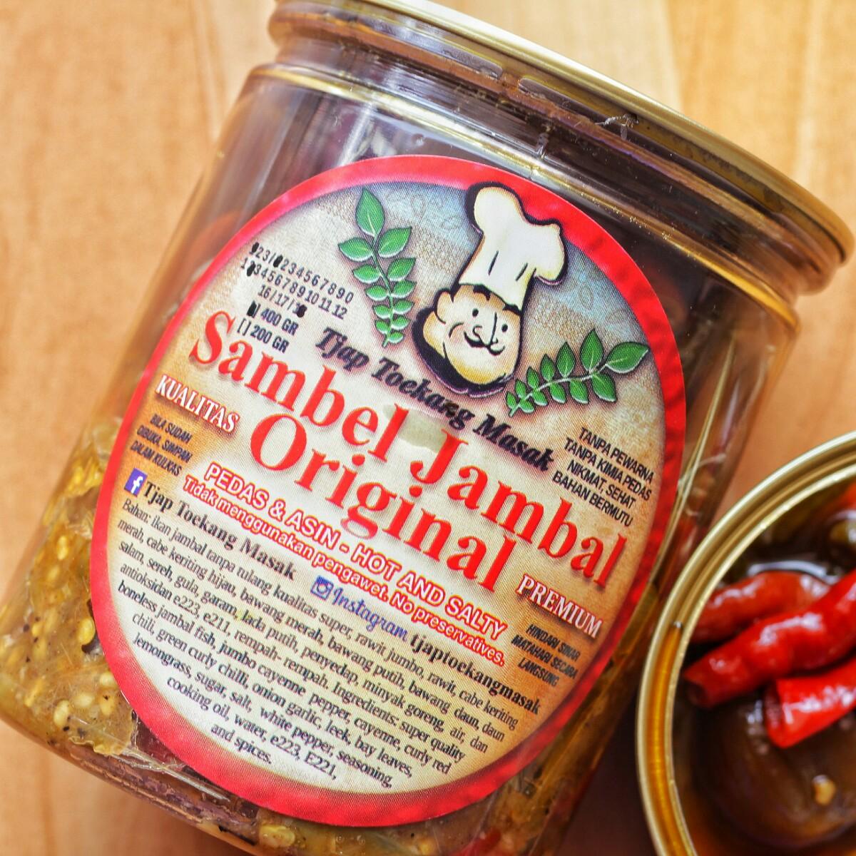 jajanbeken sambal indonesia