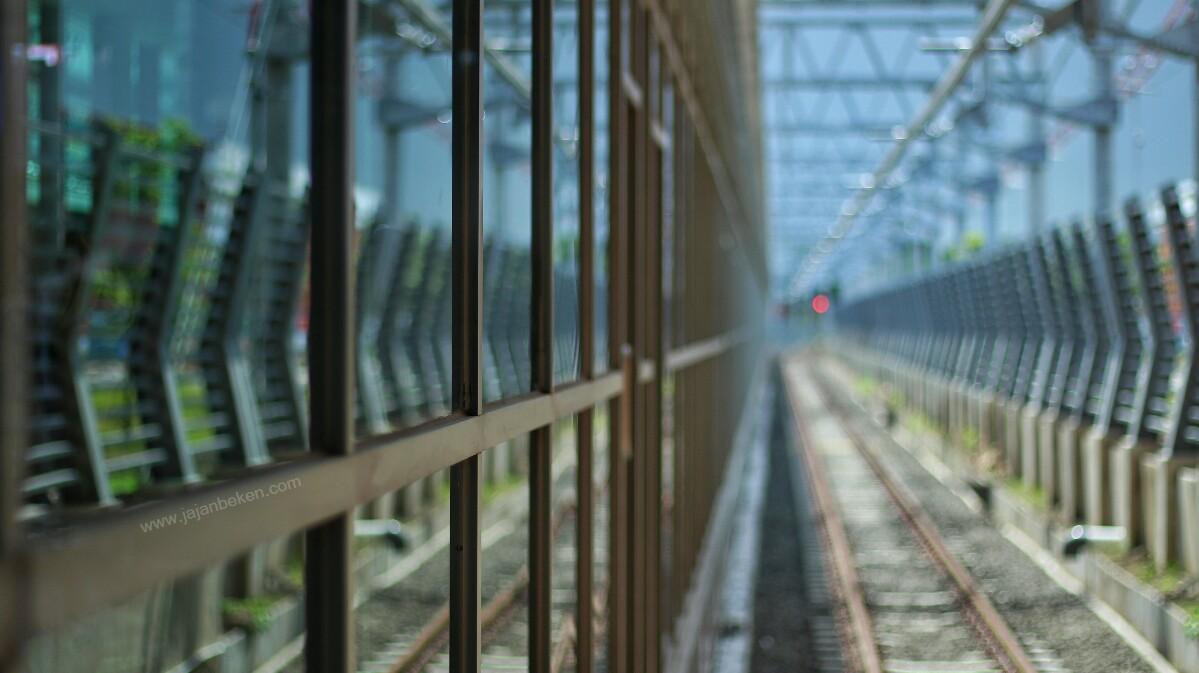Jajanbeken kereta bandara stasiun sudirman baru