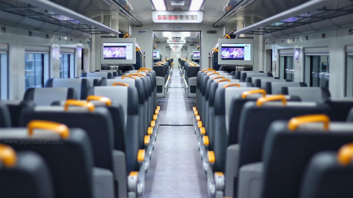 Jajanbeken kereta bandara tiket online