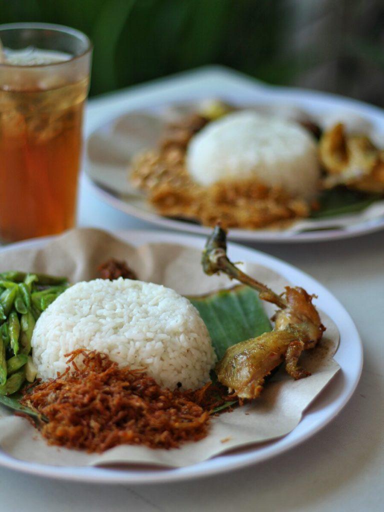 jajanbeken sunsethouse lombok nasi puyung