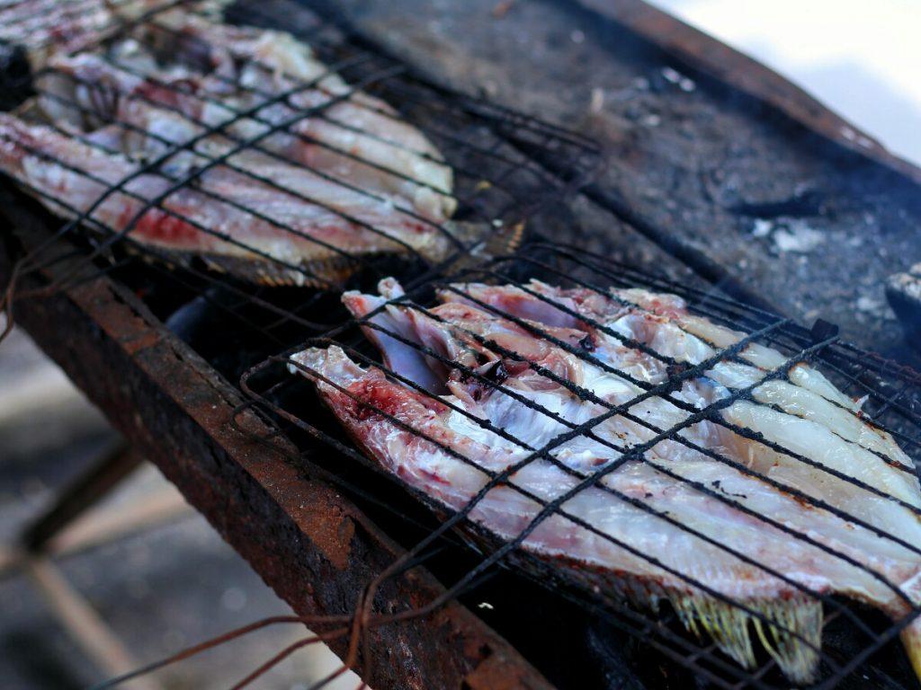 jajanbeken sunsethouse lombok seafood pantai nipah
