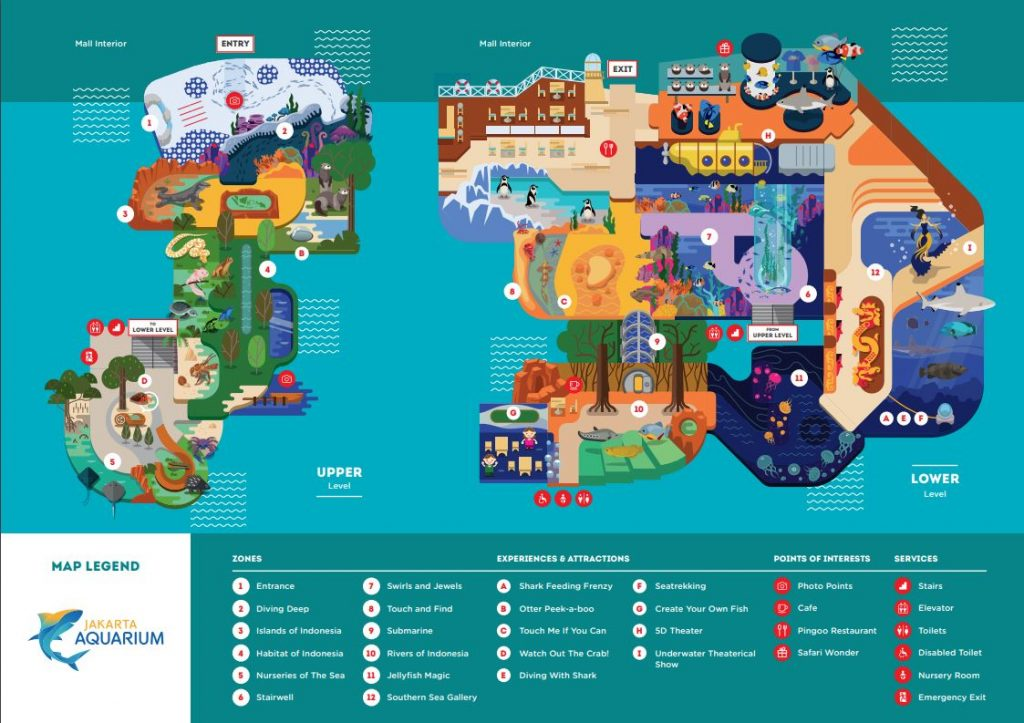 jajanbeken jakarta aquarium map