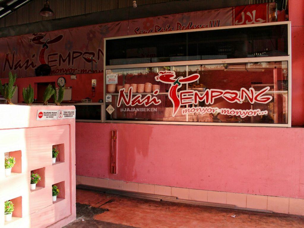 jajanbeken tempong pink restaurant