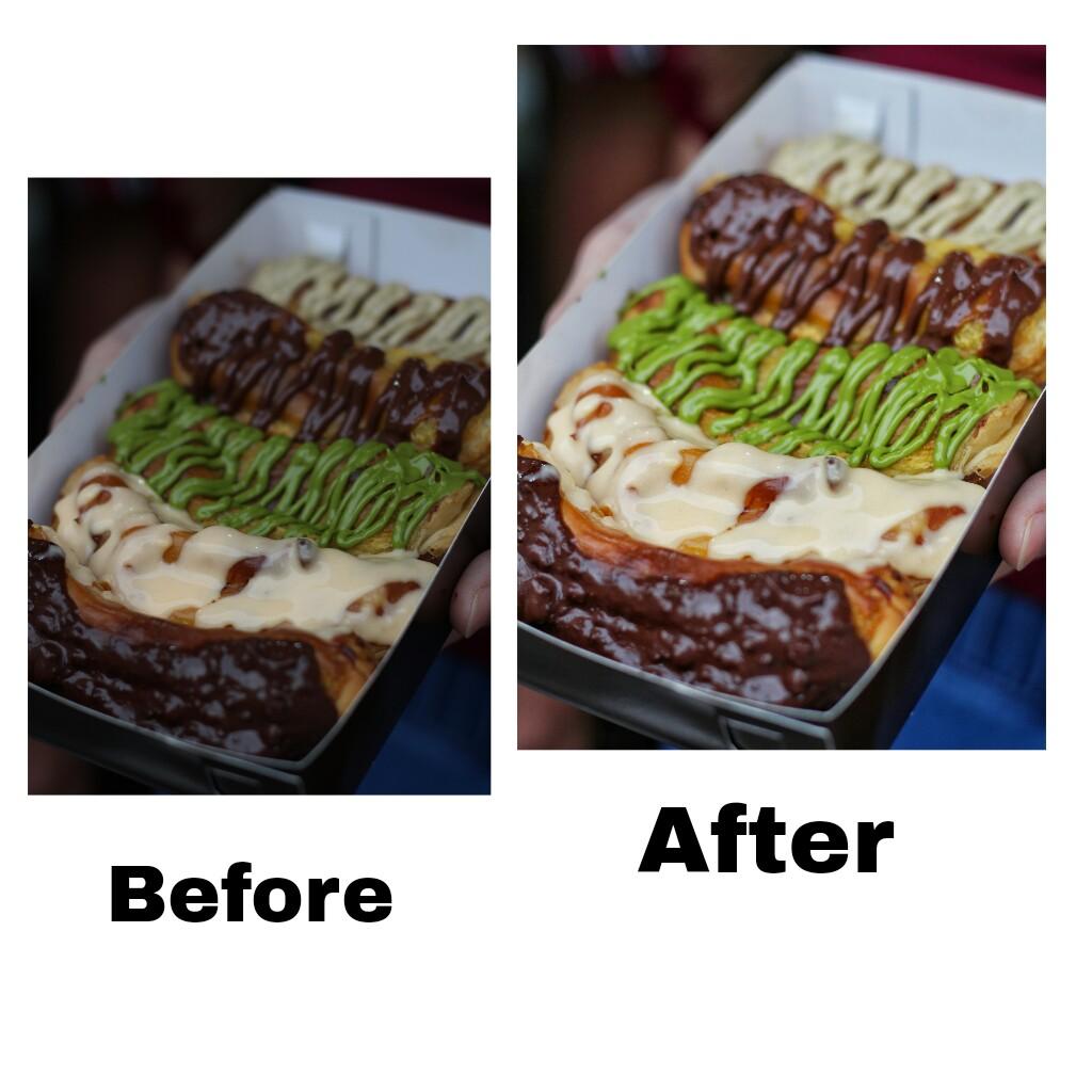 jajanbeken cara edit foto makanan untuk instagram