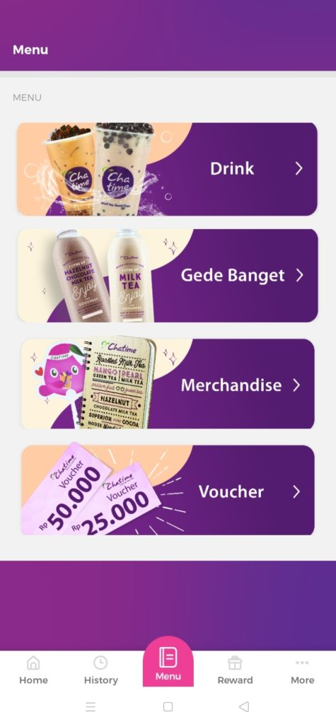 menu chatime indonesia jajanbeken